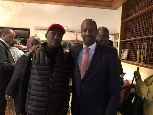 Photos:Chris kirubi health deteriorates as he jets back in the country