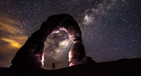 Universe and Arch from Internet