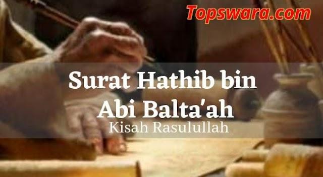 Surat Hathib bin Abi Balta'ah