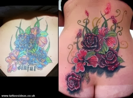 Cover UP Tattoos Pictures - Tattoos Ideas