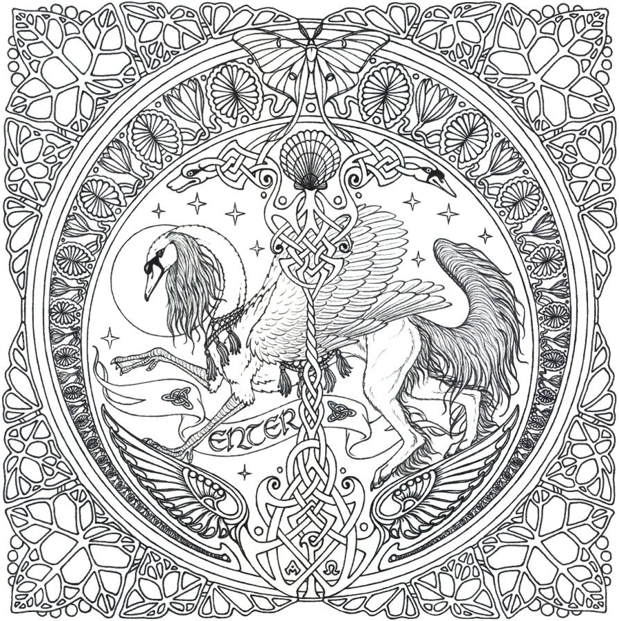 Hd very detailed coloring pages design coloring pages for Detailed coloring pages for kids