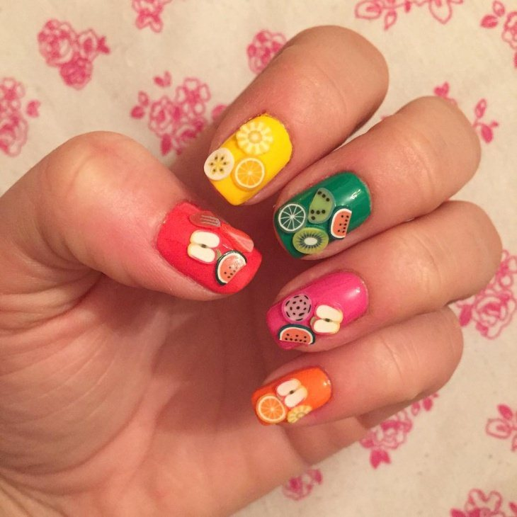Fruit Nail Art Designs 2017 - style you 7