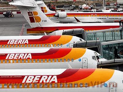 huelga, Iberia, забастовка, Иберия, авиакомпания, Испания, CostablancaVIP
