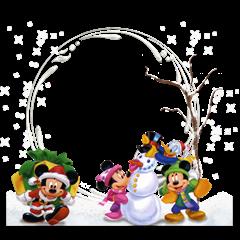 winter snowflake photo frames (2)