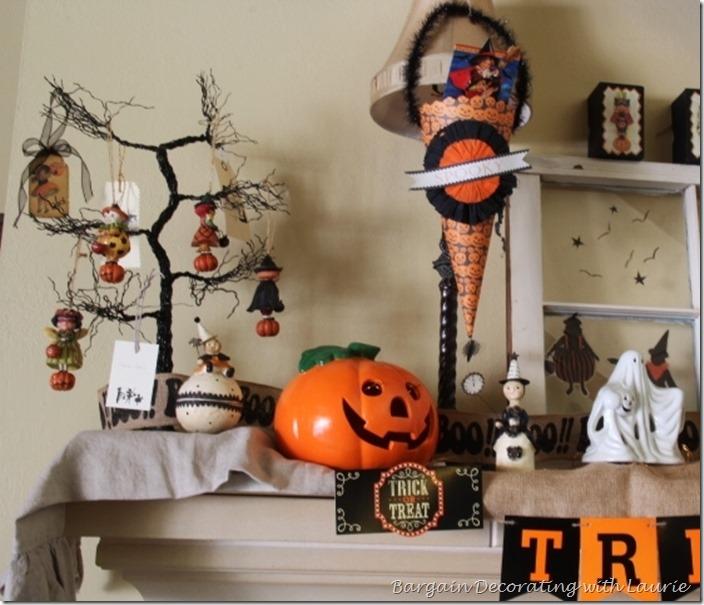 Halloween Mantel