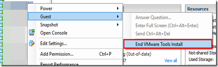 """Eddie's Blog: VMware Tools Stuck in """"Upgrade in progress"""" Fix"""