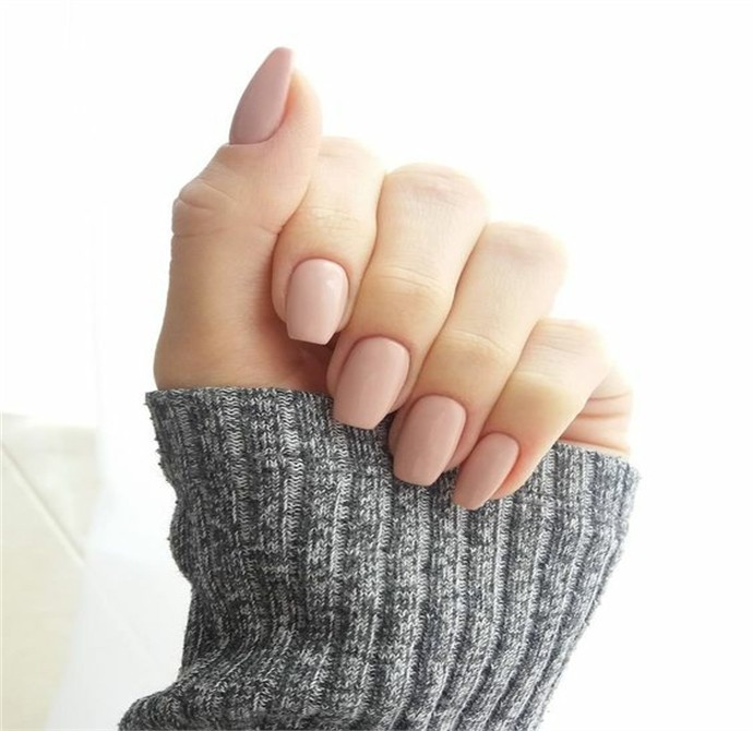 25 Simple Neutral Nails Ideas to Express Your Personality