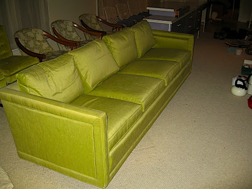 ME-1662-Vintage Silk Sofa