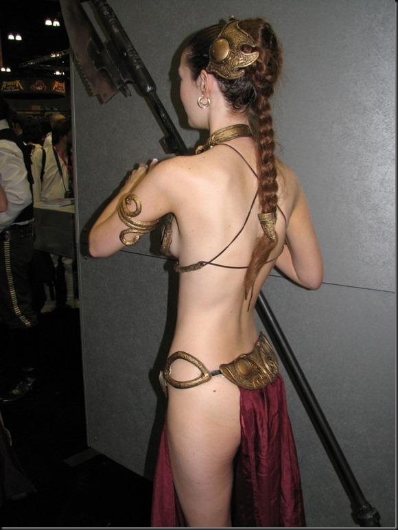 Princess Leia - Golden Bikini Cosplay_865825-0027