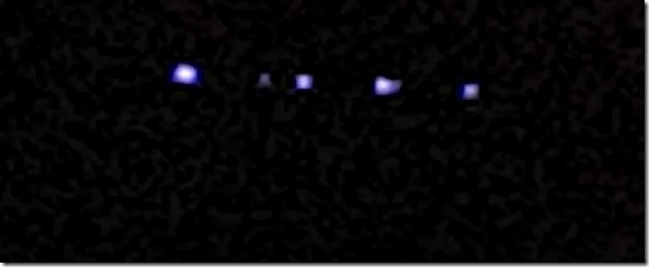 Blue Lights UFO Sightings Over Palmira Colombia