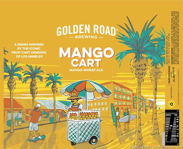 Golden Road - Tart Mango Cart Wheat Ale & Pico To Mexico 12oz & 25oz Cans (3.2%-AbV)
