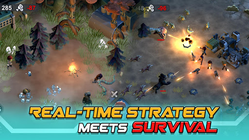 Strange World - Offline Survival RTS Game  captures d'écran 2