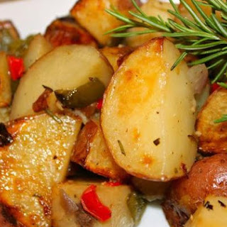 Roasted Garden Vegetables with Garlic and Rosemary