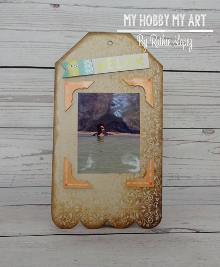 Mini album, clear Scraps Kits, Ruthie Lopez 5