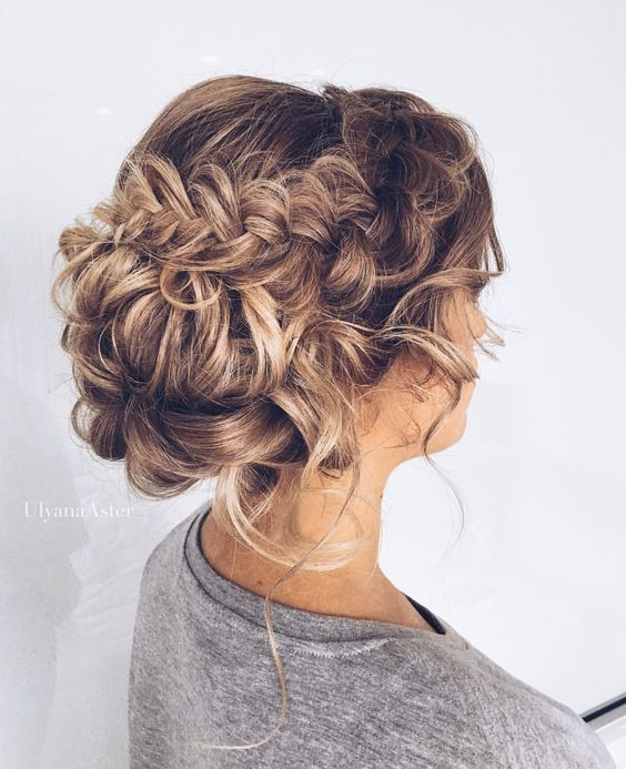 long hair -A collection of ideas for braided hair In 2017 2