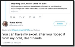 Steve Yacht Excel quote