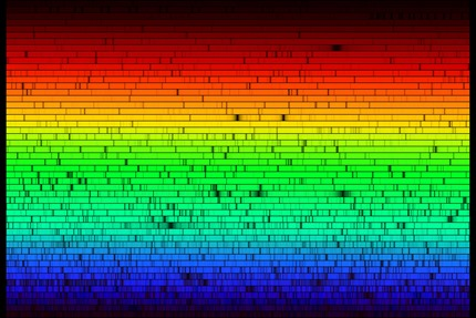 espectro do Sol