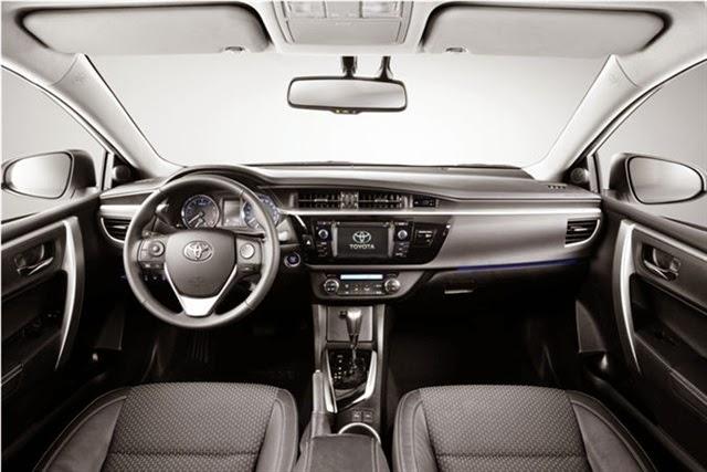 Yeni Toyota Corolla Ic Tasarim