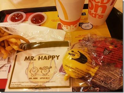Mr. Men X Little Miss: Happy Meal :)