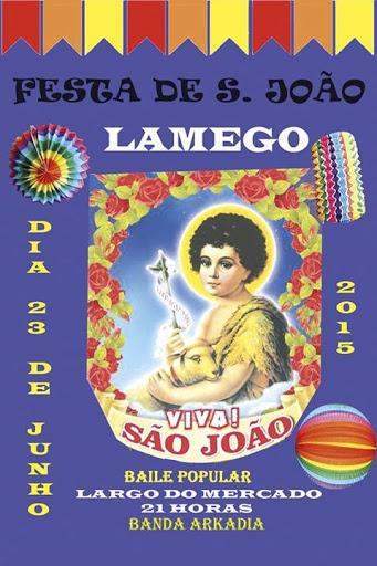 Festa de S. João - Lamego - 23 de Junho de 2015