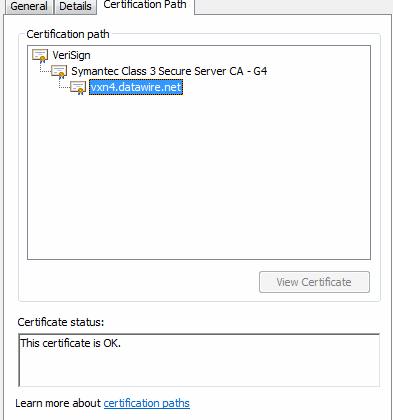 FALSE POSITIVE ON CERTIFICATE - Google Chrome Help