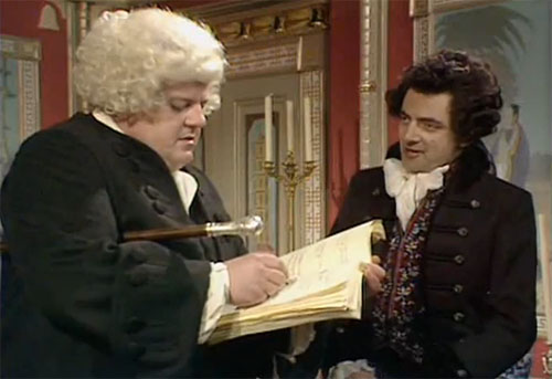 """Black Adder the Third"" Ink and Incapability (1987)"