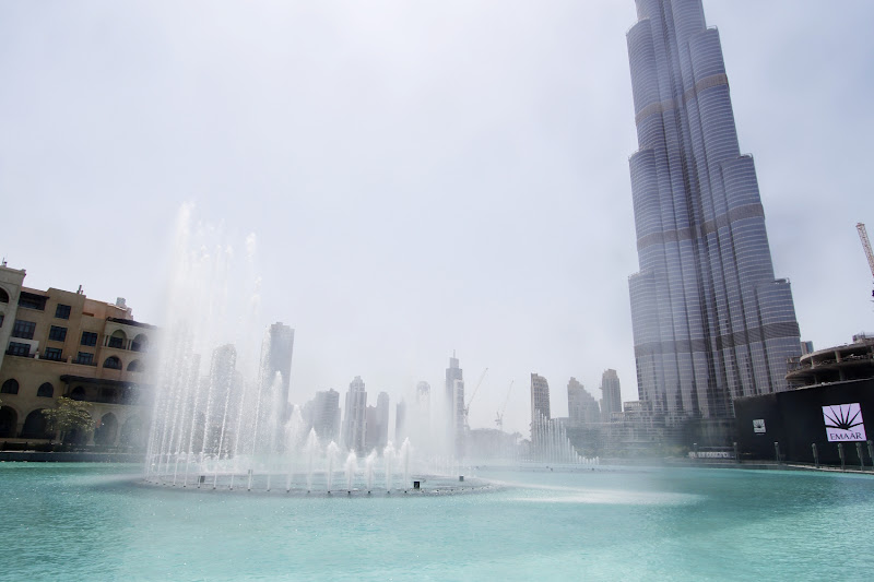 La Dubai Fountain en acción