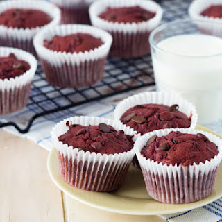 Chocolate and Beet Muffins.