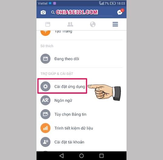 Cách tắt tự động phát video Facebook cho Android