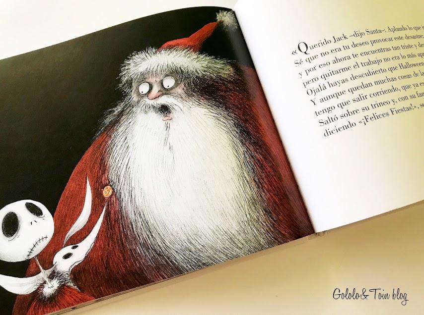Cuento de Alfaguara Pesadilla antes de Navidad
