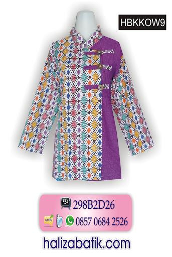 contoh model baju batik modern, toko busana, model batik