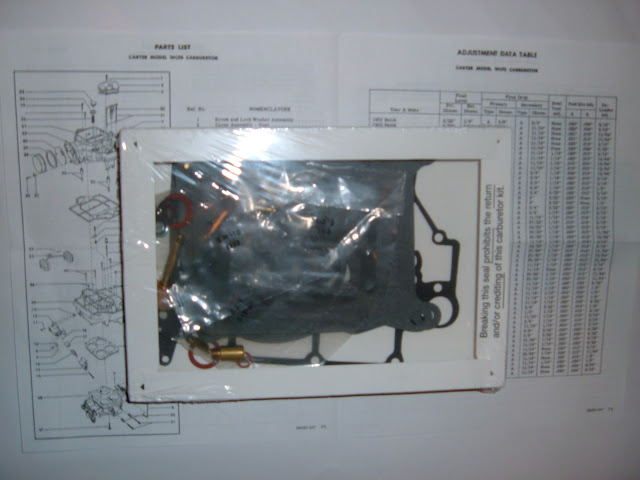 AFB carburetor kits. 39.00