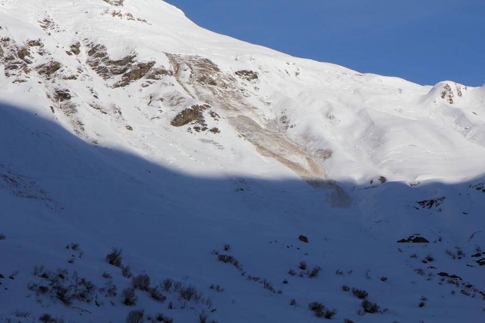 Avalanche Haute Maurienne, secteur Bonneval sur Arc, La Met - RD 902 - Photo 1