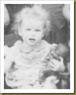 family carlene as baby