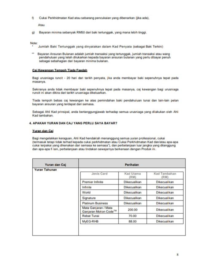 Product Disclosure Sheet - Helaian Pendedahan Produk