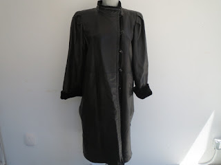 Yves Saint Laurent Fourures Leather Coat