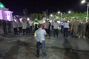 Kabag Ops Polres Soppeng Pimpin Ops Yustisi, Ingatkan Warga Disiplin Prokes Covid 19