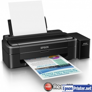 Reset Epson L310 ink pads are at the end of their service life