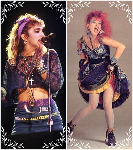 Madonna e Cyndi Lauper