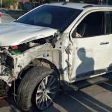 VICENTE NOBLE: Conductor y su hermano salvan sus vidas de milagro en accidente de tránsito.