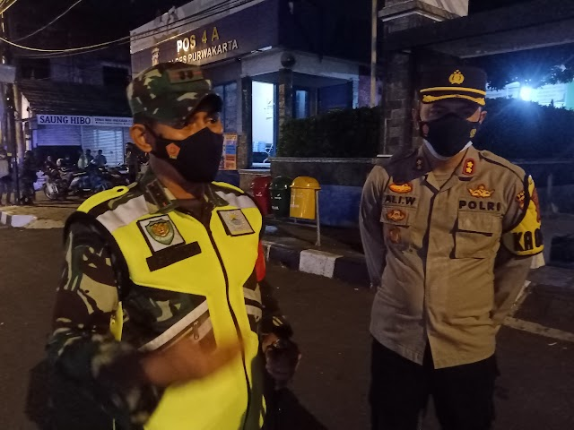 Dandim 0619/Purwakarta: Malam Idul Adha Tidak Ada Sasaran Tambahan Dalam Patroli PPKM Darurat