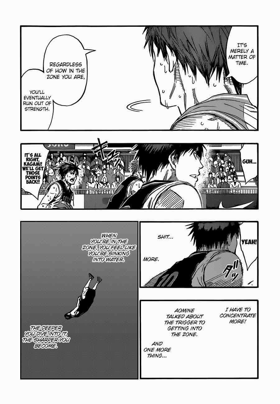 Kuroko no Basket Manga Chapter 255 - Image 10