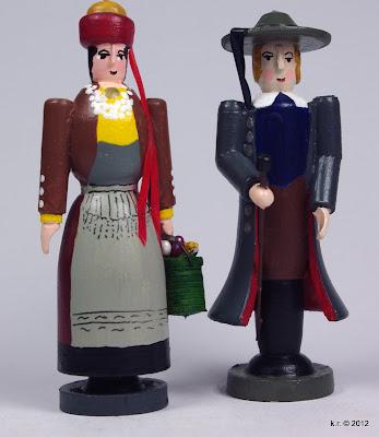Frau aus dem 'Alten Land' und Mann aus Gifhorn