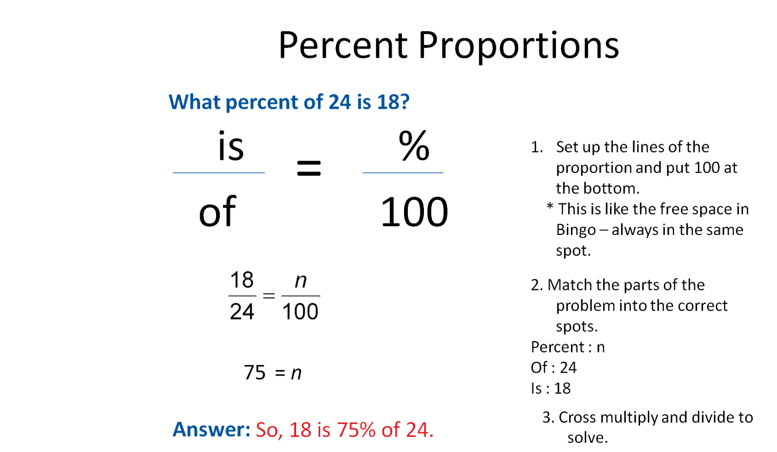 proportion math problems