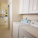 Tired of schlepping your clothes to the laundromat?  This home includes a washer and dryer.