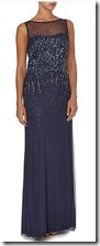 deep blue ombre sequin gown