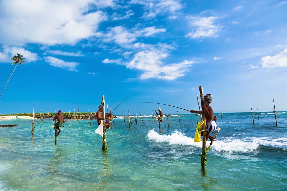 Fishermen Stilt fishing