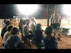 Rulo Bregagnolo, del grupo Ecologista Cuña Pirù dando su charla sobre Rios Libres.