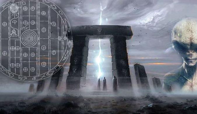 Sri Lanka um antigo granito de 6500 anos representa um Portão Estelar 01