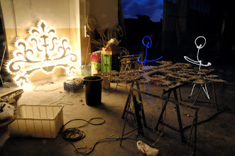 Photo: Light Factory X - Light painting by Christopher Hibbert, french photographer and light painter. Further information: http://www.christopher-hibbert.com